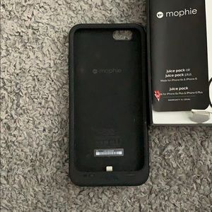 Accessories - Mophie charging case iPhone 6s Plus